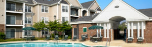 Pool's building at Acclaim at Germantown